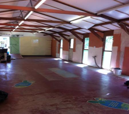 Pilates Studio Before Photo